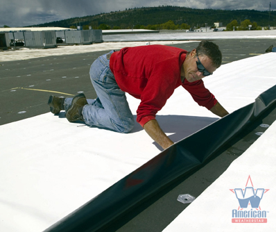 The Single Ply Roofing Application Process Explained By